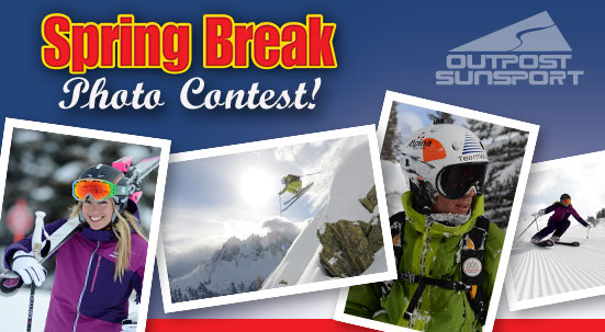 Enter Outpost Sunsport's Spring Break Photo Contest!