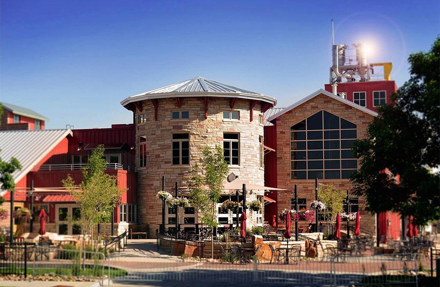 odells brewery outdoor patio